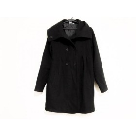 【中古】 ロキシー Roxy コート サイズS レディース 黒 冬物