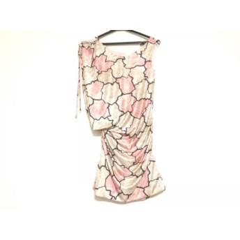 【中古】 レディ Rady ワンピース レディース ベージュ ピンク マルチ 花柄