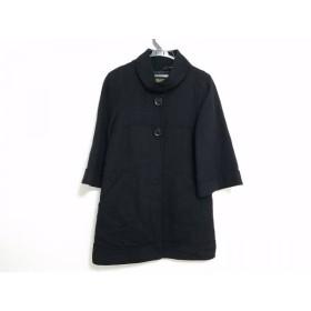 【中古】 ボールジー BALLSEY コート サイズ38 M レディース 黒 冬物