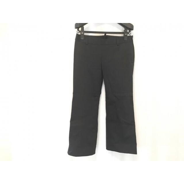 【中古】 ディースクエアード DSQUARED2 パンツ サイズ38 S レディース 黒 七分丈
