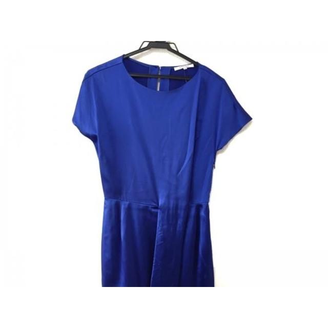 【中古】 カルヴェン CARVEN ワンピース サイズ36 S レディース 美品 ブルー