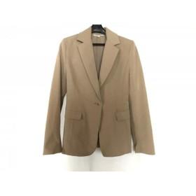 【中古】 ルイス Lui's ジャケット サイズ1 S レディース ベージュ 肩パッド