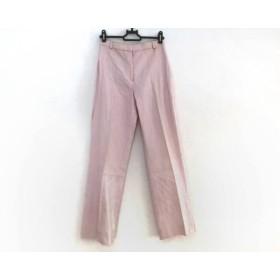 【中古】 エンポリオアルマーニ パンツ サイズ38 S レディース ピンク センタープレス/シルク混