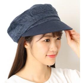 [マルイ]【セール】ギャザー マリンキャップ【サイズ調節】【レディース/帽子】/ナミキ(NAMIKI)