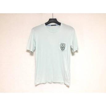 【中古】 ギルドプライム 半袖Tシャツ サイズ1 S メンズ ライトブルー ダークネイビー イエロー