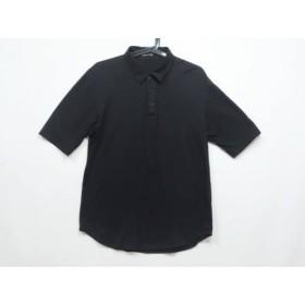【中古】 ラッドミュージシャン LAD MUSICIAN 半袖ポロシャツ サイズ44 L メンズ 黒