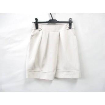 【中古】 クローラ CROLLA スカート サイズ38 M レディース ベージュ