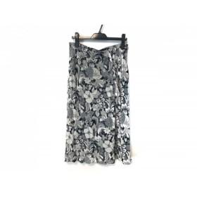 【中古】 ソニアリキエル SONIARYKIEL スカート サイズ46 XL レディース ライトグレー 花柄