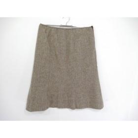 【中古】 モスキーノ チープ&シック MOSCHINO CHEAP & CHIC スカート サイズ42 M レディース ブラウン