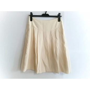 【中古】 マウリツィオペコラーロ MAURIZIO PECORARO スカート サイズ6 M レディース アイボリー