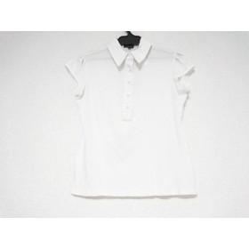 【中古】 セオリー theory 半袖ポロシャツ サイズ2 S レディース アイボリー