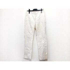 【中古】 ジルサンダー JILSANDER パンツ サイズ36 S レディース アイボリー