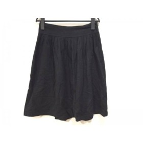 【中古】 アニエスベー agnes b スカート サイズ1 S レディース 黒