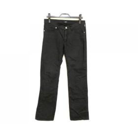 【中古】 ヴェルサーチジーンズ VERSACE JEANS COUTURE パンツ サイズ30 XS レディース 黒