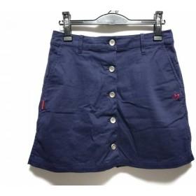 【中古】 マスターバニーエディション ミニスカート サイズ2 M レディース ダークネイビー レッド