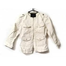 【中古】 ダブルスタンダードクロージング DOUBLE STANDARD CLOTHING ブルゾン レディース 白 冬物