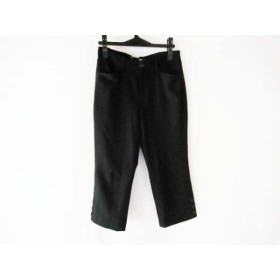 【中古】 ビースリー B3 B-THREE パンツ サイズ36 S レディース 黒