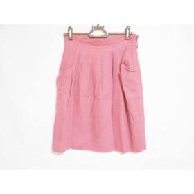 【中古】 アプワイザーリッシェ Apuweiser-riche スカート サイズ2 M レディース ピンク ラメ