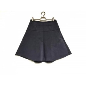 【中古】 ミューズデドゥーズィエムクラス スカート サイズ36 S レディース 美品 ダークネイビー