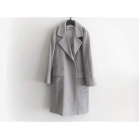【中古】 クロエ Chloe コート サイズ40 M レディース グレー 冬物