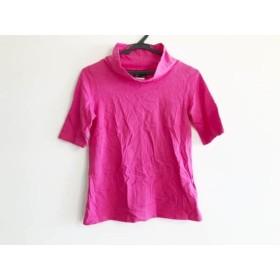 【中古】 アニエスベー agnes b 半袖Tシャツ サイズ1 S レディース ピンク ハイネック
