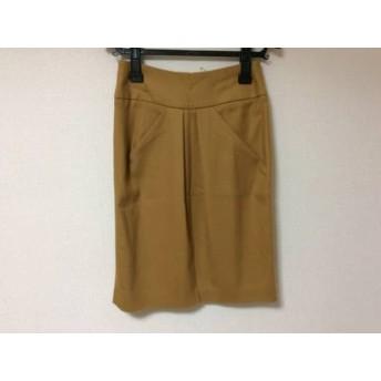 【中古】 スピック&スパン ノーブル Spick & Span Noble スカート サイズ36 S レディース ライトブラウン