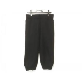 【中古】 アニエスベー agnes b パンツ サイズ0 XS レディース 黒