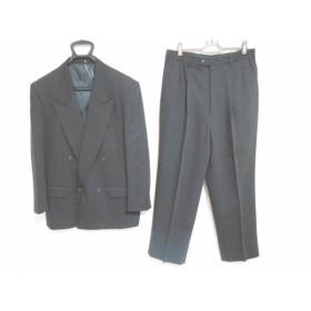 【中古】 コムサデモード COMME CA DU MODE シングルスーツ メンズ 黒 TETSU