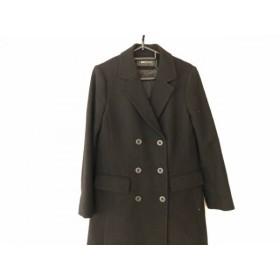 【中古】 ブラックバイマウジー BLACK by moussy コート サイズ1 S レディース 美品 黒 冬物