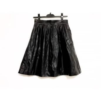 【中古】 グーコミューン GOUT COMMUN スカート サイズ38 M レディース 黒