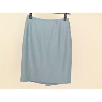 【中古】 ジャスグリッティー JUSGLITTY スカート サイズ1 S レディース ブルー バックリボン