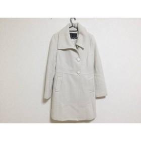 【中古】 アンタイトル UNTITLED コート サイズ3 L レディース アイボリー 冬物/ニット