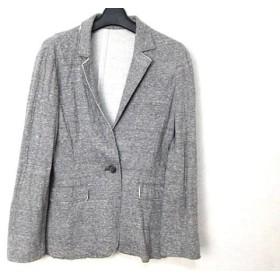 【中古】 ノーリーズ NOLLEY'S ジャケット サイズ38 M レディース グレー