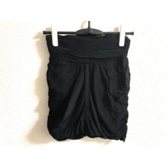 【中古】 ドレスキャンプ DRESS CAMP ショートパンツ サイズ38 M レディース 黒
