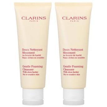 【セット】クラランス CLARINS ジェントル フォーミング クレンザー ドライ/センシティヴ 125mL 2個セット 洗顔