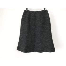【中古】 シビラ Sybilla スカート サイズL レディース ダークグレー ラメ