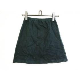 【中古】 アニエスベー agnes b ミニスカート サイズ1 S レディース 黒