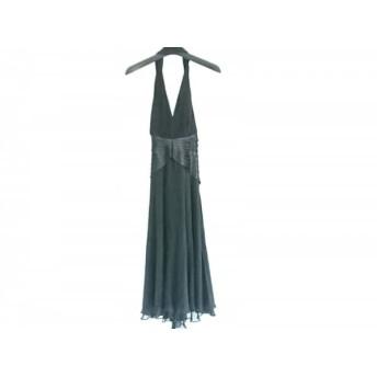 【中古】 タダシ TADASHI ドレス サイズ2 M レディース 黒 フリル