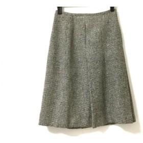【中古】 アニエスベー agnes b スカート サイズ36 S レディース グレー