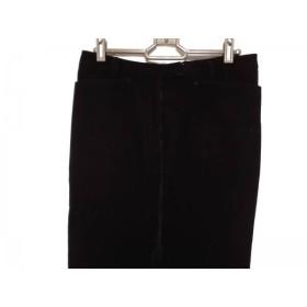 【中古】 オールドイングランド OLD ENGLAND パンツ サイズ38 M レディース 黒 コーデュロイ