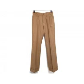 【中古】 ニジュウサンク 23区 パンツ サイズ36 S レディース ブラウン ストライプ