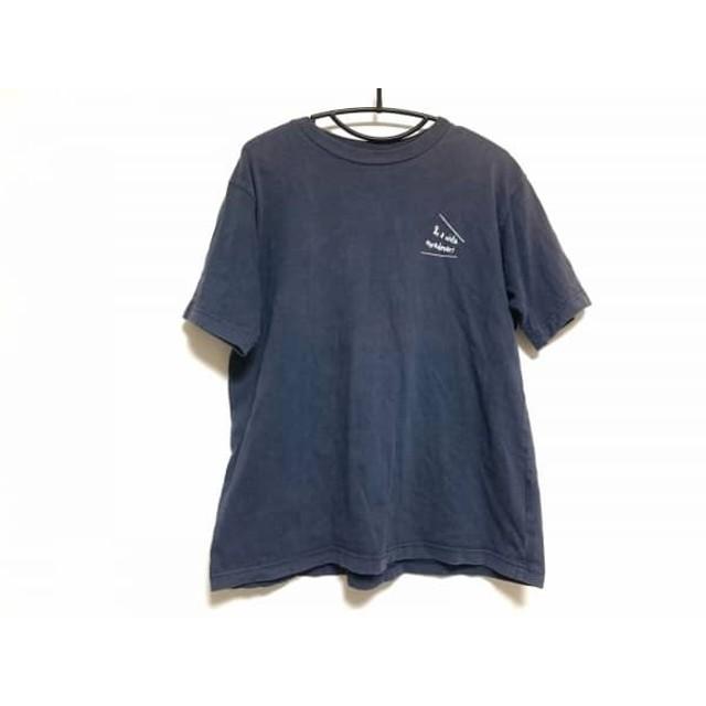 【中古】 ノースフェイス THE NORTH FACE 半袖Tシャツ サイズM メンズ ダークグレー