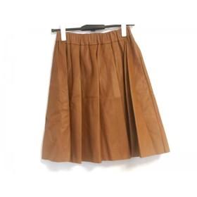 【中古】 サクラ SACRA スカート サイズ38 M レディース 美品 ブラウン