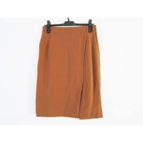 【中古】 ピンキー&ダイアン Pinky & Dianne スカート サイズ38 M レディース 美品 ブラウン
