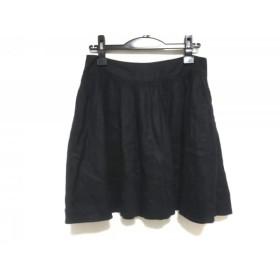 【中古】 シーバイクロエ SEE BY CHLOE スカート サイズ38 M レディース 黒 刺繍