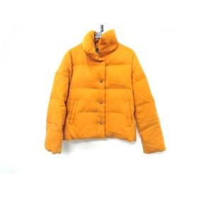 【中古】 ノーブランド ダウンジャケット サイズ38 M レディース イエロー