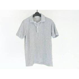 【中古】 ラコステ Lacoste 半袖ポロシャツ サイズ3 L メンズ グレー