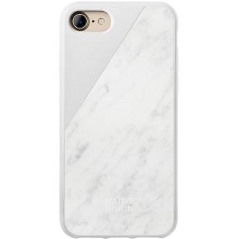 Native Union iPhone 8 ケース マーブルホワイト