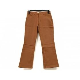 【中古】 ミラオーウェン Mila Owen パンツ サイズ1 S レディース ブラウン
