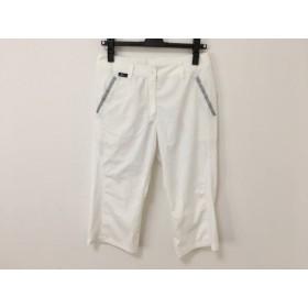 【中古】 シーダブリューエックス CW-X パンツ サイズ66 レディース 白 グレー